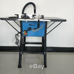10 Inch Contractor Wood Cutting Table Saws 1500W Circular Fence Table Saws