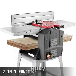 10 Inch Jointers Woodworking Benchtop Jointer Planer for Wood Cutting