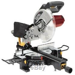 10 Sliding Compound Miter Saw 15 Amp. Motor, Make Cross/Bevel/Miter Cuts