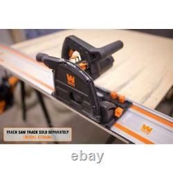 10 amp 6.5 in. Plunge cut sidewinder circular track saw
