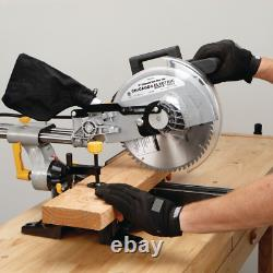 10 in. Sliding Compound Miter Saw precision cross, bevel and miter cuts