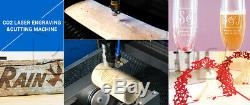 100W CO2 CNC Wood Acrylic DIY Crafts Laser Engraving Cutting Machine 1300900mm