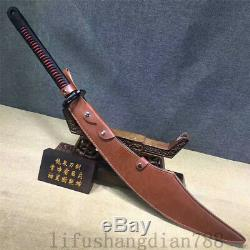 1095 High Carbon Steel Sword Dao Can Cut Tree Hand Made