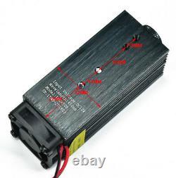 15W Laser Head Engraving Module 450nm Blue TTL Wood Marking Cutting Tool USA