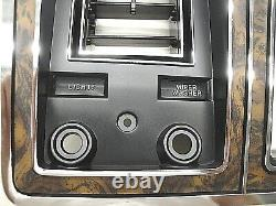 1978 1979 78 79 FORD TRUCK BRONCO WOOD GRAIN DASH BEZEL With AIR NEW (D)