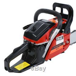 2000W 52cc 22 Bar Gasoline Chain Saw 8500rpm CDI Garden Chainsaw Wood Cutting