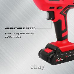 20V cordless reciprocating saw sabre jigsaw blades multi-cut withbattery recharger
