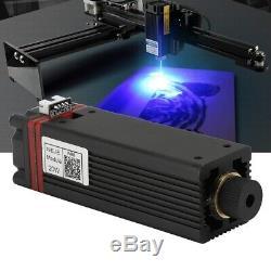 20W 450nm Laser Head Engraving Module Metal Marking Wood Cutting For Engraver