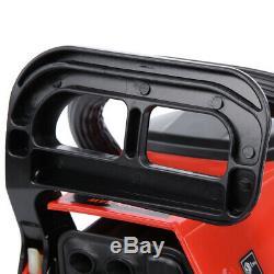 22 Bar Gas Powered Chainsaw Chain Saw 52cc Wood Cutting Aluminum Crankcase Xmas