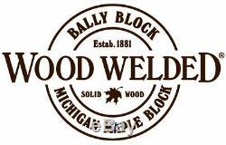 24 x 18 x 1-3/4 Maple Cutting Board Michigan Maple Block Wood Welded