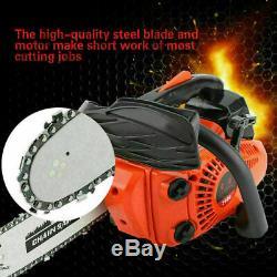 25.4CC 12Petrol Top Handle Gasoline Chainsaw Wood Cutting Grinding Machine 900W