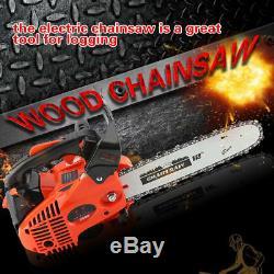 25,4cc 12petrol Top Handle Gasoline Chainsaw Wood Cutting Grinding Machine 900w
