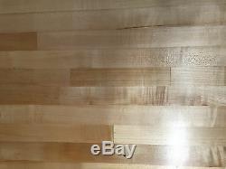 25 x 24 x 1.5 Maple Wood Butcher Block Counter top // Cutting Board