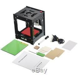 3000mW DIY Desktop Mini CNC Laser Engraver Cutter Wood Cutting Machine Router