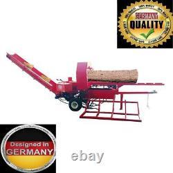 35 Tons Firewood Processor split wood cut firewood. Is Fully Hydraulic