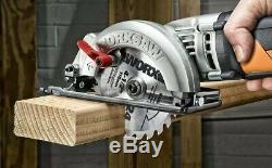 4-1/2 Circular Saw Woodworking Hand Saw WORX WORXSAW WX429L Angle Cutting