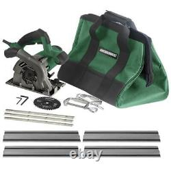 4 1/2 Plunge Cut Circular Saw Kit 53 1/2 Guide Track 12000 RPM Low Friction