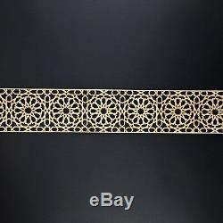 4 Pcs Laser Cut Wooden Panels Moroccan-Wall Decoration Wood Design 65 Cm SIZE10