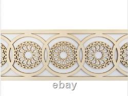 4 Pcs Moroccan Decorative Panels 65 cm Wooden Plaque, Trim, Beading, Laser cut wood
