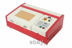 40W Co2 Laser Engraving Cutting Machine, 12 x 8 K40 Desktop DIY Wood Laser