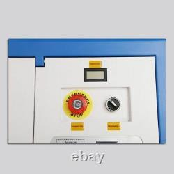 40W Laser Engraving Cutting Machine K40 Engraver Laser Cutter For Wood Acrylic