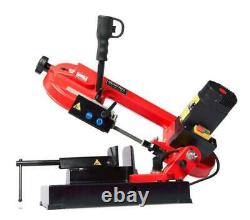 5 Amp Portable Universal Cutting Band Saw Metal Iron Tool Cast Vise Duty