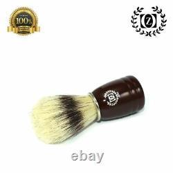 5 Pc Men's Wet Cut Throat Wooden Straight Edge Razor Shaving Set Kit Shave Ready