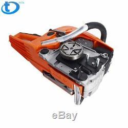 52cc 20 Gasoline Chain Saw Cutting Wood Gas Sawing Aluminum Crankcase Chain Saw