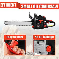 60CC 22 Gasoline Chainsaw Powered Wood Cutting Engine Gas Crankcase Chain Saw