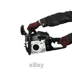 62CC 4500W 20'' Bar Chainsaw Gasoline Powered Cutting Wood Gas Chain Saw 2Stroke
