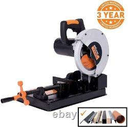 7 1/4 in. Multi-Purpose Chop Saw Accurate Reliable Powerful Cold Cut Blade
