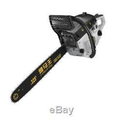78cc Chainsaw Gasoline Powered Cutting Wood Gas Chain Saw 2 Stroke Tree Pruning