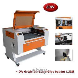 80W Co2 Laser Cutting & Engraver Machine Laser Engraver Acrylic & Wood Cutter