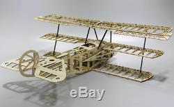BEST RC Plane Laser Cut Balsa Wood Airplane building Kit 1000m with motor NEW