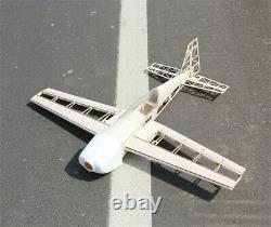 Balsa Wood Plane Laser Cut Airplane Kit Wingspan 1000mm 3D Model for Adult Toy