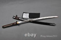 Battle Ready 1095 Steel Katana Japanese Samurai Sharp Practice Sword Cut Bamboo