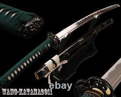 Battle Ready Japanese Samurai Katana Full-tang Sharp Practice Sword Cut Bamboo