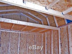 Best Barns Millcreek 12x16 Wood Storage Shed Kit ALL Pre-Cut