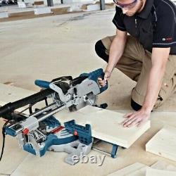 Bosch GCM8SJL 8 240v Sliding Mitre Saw With Laser Cutting Guide -Includes Blade