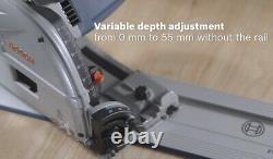 Bosch GKT55GCE Professional Plunge Cut Handheld Circular Saw Corded 220V, 1400W