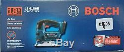 Bosch JSH180B 18-volt 3-1/2 inch Cutting Depth Cordless Jigsaw Bare tool NEW