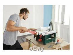 Brand New 1200w Parkside Portable Table Saw various cutting angle 45°. 14kgCorded