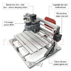 CNC 3018 Laser Engraving Machine Router Carving PCB Wood Milling Cutting Set