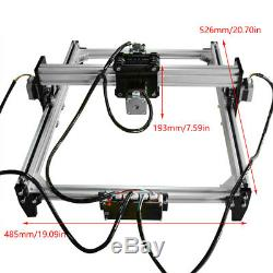 CNC Laser Engraver Cutter Metal Marking Wood Cutting Machine Support VG-L3 lsy