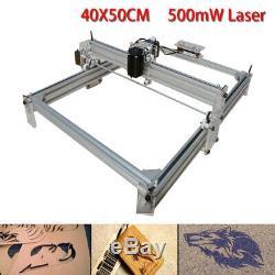 CNC Laser Engraver Kits Wood Carving Engraving Cutting Machine Desktop Printer