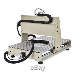 CNC Router 3 Axis 6040 Engraving Mill Engraver Metal Wood Cut Machine 1.5KW UPS