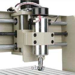 CNC Router Engraver 3040 4 Axis Wood Engraving Carving Cutting Machine USB Port
