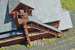COBLESKILL COAL HO Model Railroad Structure Unpainted Laser-Cut Wood Kit LA698