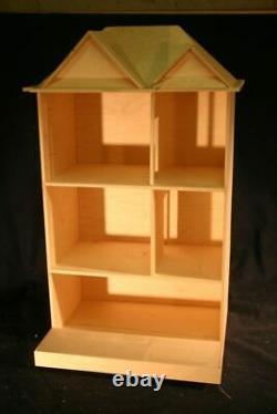 Clairmont 1 Inch Scale Dollhouse Kit Laser Cut