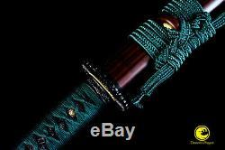 Clay Tempered Battle Ready Japanese Samurai Katana Cutting Blade Razor Sharp